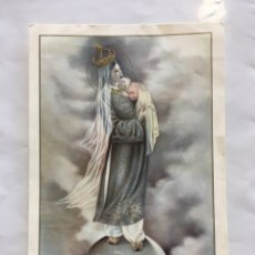 Coleccionismo Papel Varios: ESTAMPA RELIGIOSA. REGINA PACIS, ORA PRO NOBIS. PRINTED IN ITALY.. Lote 194944535