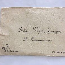 Coleccionismo Papel Varios: BEATA IMELDA. VERITAS CHARITAS. NOTIFICACIÓN, FECHA, 19-6-1949.. Lote 194946527