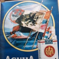 Coleccionismo Papel Varios: PUBLICIDAD DE CIGARRILLOS AGUILA . AÑO 1971 . 33 X 25 CM. Lote 194947021