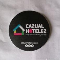 Coleccionismo Papel Varios: POSAVASOS CASUAL HOTELES. HOTEL.. Lote 194978880