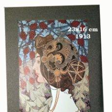 Coleccionismo Papel Varios: CROMO SOBRE CARTULINA - LITOGRAFIA DE LA PINTURA DE CARL STRATHMANN - AÑO 1913 - 23X16 CM. Lote 194982916