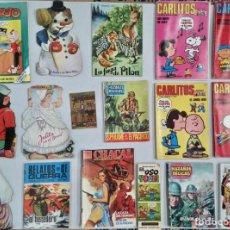 Coleccionismo Papel Varios: LOTE ENORME DE CUENTOS PARA NIÑOS, NOVELA JUVENIL Y CARTELES. Lote 195154612