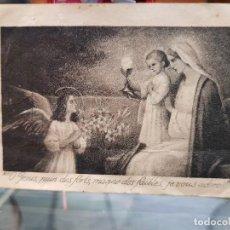 Coleccionismo Papel Varios: ANTIGUA ESTAMPA RELIGIOSA ESBRI PEYRO DESAMPARADOS VALENCIA 1920. Lote 195161470