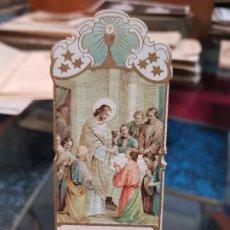 Coleccionismo Papel Varios: ANTIGUA ESTAMPA RELIGIOSA HIJA MARIA INMACULADA PARA SERVICIO DOMESTICO VALENCIA 1914. Lote 195161552