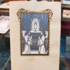 Coleccionismo Papel Varios: ANTIGUA ESTAMPA RELIGIOSA RIPOLL FERRER VALENCIA 1931. Lote 195161712