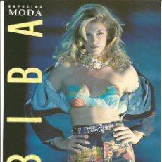 Coleccionismo Papel Varios: CINDY CRAWFORD - REVISTA BIBA 1992 - ONLY COVER - 1 HOJA. Lote 195191196