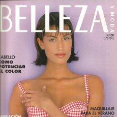 Coleccionismo Papel Varios: YASMEEN GHAURI - REVISTA BELLEZA - ONLY COVER - 1 HOJA . Lote 195191881