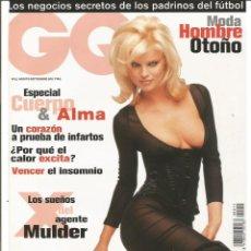 Coleccionismo Papel Varios: EVA HERZIGOVA - REVISTA GQ - ONLY COVER - 1 HOJA . Lote 195191940