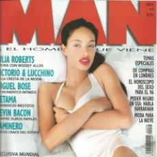 Coleccionismo Papel Varios: BRANDI QUIÑONES - REVISTA MAN - ONLY COVER - 1 HOJA - 1996. Lote 195196062