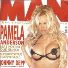 Coleccionismo Papel Varios: PAMELA ANDERSON - REVISTA MAN - ONLY COVER - 1 HOJA - 2002. Lote 195196187