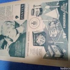 Coleccionismo Papel Varios: RECORTE PRENSA PUBLICIDAD CONSERVAS ALBO Y PANTEN. Lote 195245777