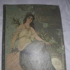 Coleccionismo Papel Varios: ANTIGUO LIBRO ENCICLOPEDIA ESPAÑA REGIONAL CARTAS COROGRAFICAS MAPAS,CEFERINO ROCAFORT,AÑOS 1920. Lote 195249785