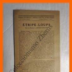Coleccionismo Papel Varios: ANUNCIO EDITORIAL - PUBLICIDAD DE ARTHEME FAYARD ET CIE EDITEURS 1929. Lote 195276676