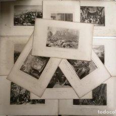 Coleccionismo Papel Varios: GRAVADOS. 11 GRAVADOS DE HISTORIA ANTIGUA. MADRID FINALES S. XIX. ED.: GASPAR Y ROIG. . Lote 195305126