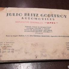 Coleccionismo Papel Varios: MAPA DE CARRETERAS. AÑOS 40-50.. Lote 195330380