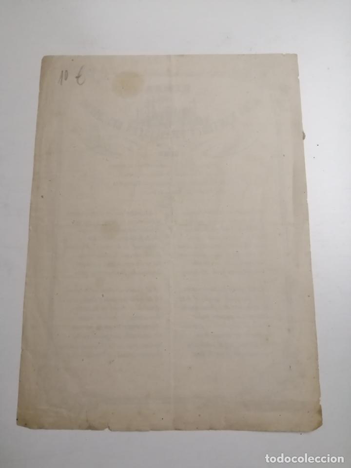 Coleccionismo Papel Varios: Himno á los mártires franciscos del Japón. 1860 Barcelona. Lit.: Malis - Foto 2 - 195368110