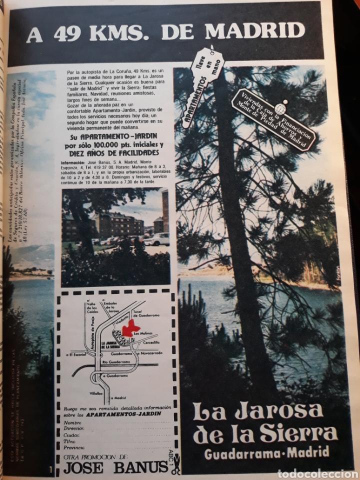 PUBLICIDAD URBANIZACIÓN LA JAROSA DE LA SIERRA , A 49 KM DE MADRID . 30 X 21 CM (Coleccionismo en Papel - Varios)