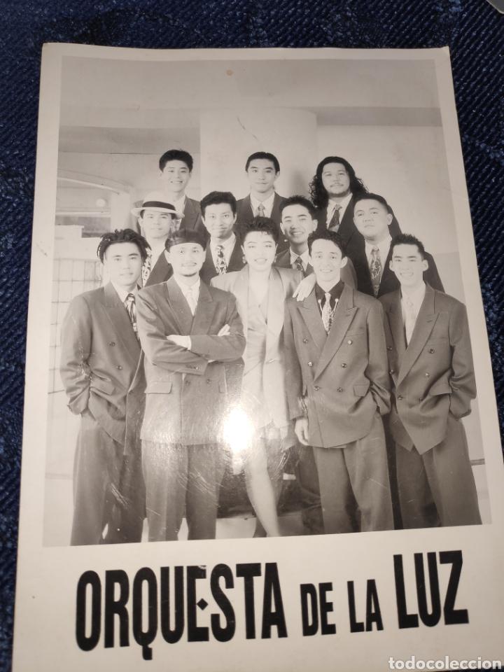 Coleccionismo Papel Varios: Tarjeta grande - Orquesta de la luz - Foto 2 - 195382882