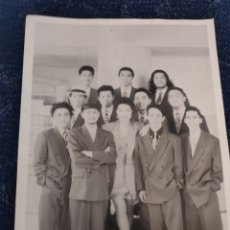 Coleccionismo Papel Varios: TARJETA GRANDE - ORQUESTA DE LA LUZ. Lote 195382882