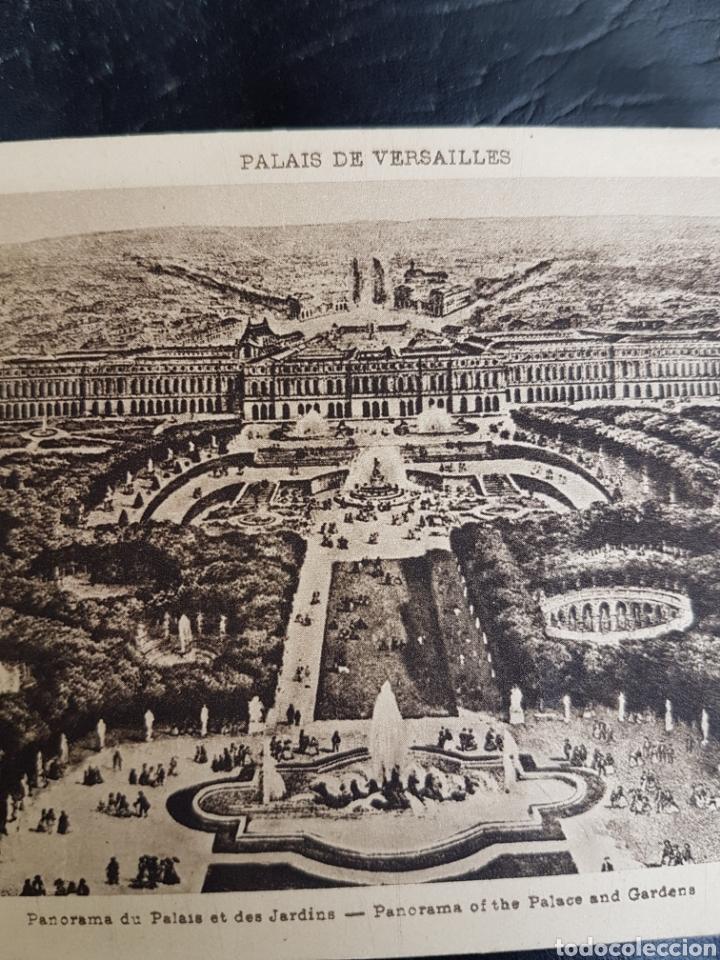 Coleccionismo Papel Varios: ANTIGUO CATALOGO DE POSTALES DE VERSALLES - Foto 2 - 195390602