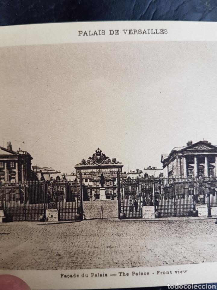 Coleccionismo Papel Varios: ANTIGUO CATALOGO DE POSTALES DE VERSALLES - Foto 3 - 195390602