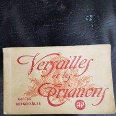 Coleccionismo Papel Varios: ANTIGUO CATALOGO DE POSTALES DE VERSALLES. Lote 195390602