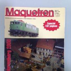 Coleccionismo Papel Varios: MAQUETREN 87, ESPECIAL NUREMBERG, 2000, EL TREN DE LA POBLA . Lote 195459020