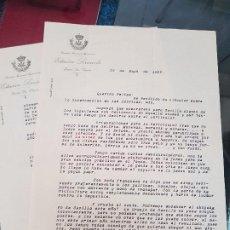 Coleccionismo Papel Varios: ANTIGUA CARTA ESTACION SERICICOLA PUERTO SANTA MARIA CADIZ 1927. Lote 195463840
