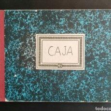 Coleccionismo Papel Varios: LIBRO DE CAJA CONTABILIDAD. EN PESETAS. ENVIO INCLUIDO EN EL PRECIO.. Lote 195480615