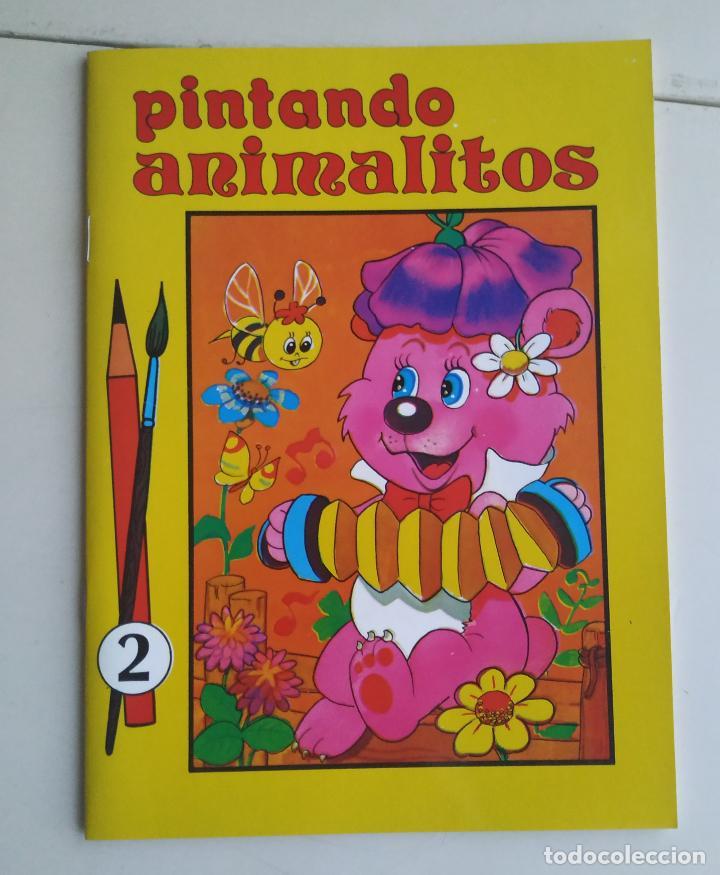 CUADERNO PINTANDO ANIMALITOS NO. 2 (ÁLBUM PARA COLOREAR SUSAETA). 1985 (Coleccionismo en Papel - Varios)