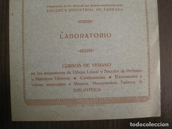 Coleccionismo Papel Varios: ATENEO OBRERO DE BARCELONA-CURSO DE 1928 1929-VER FOTOS-(V-19.382) - Foto 2 - 196803226