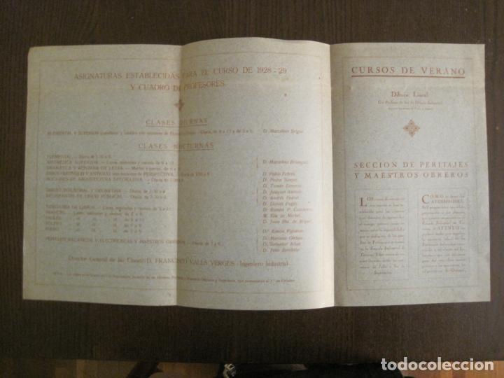 Coleccionismo Papel Varios: ATENEO OBRERO DE BARCELONA-CURSO DE 1928 1929-VER FOTOS-(V-19.382) - Foto 4 - 196803226
