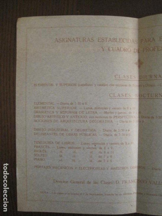 Coleccionismo Papel Varios: ATENEO OBRERO DE BARCELONA-CURSO DE 1928 1929-VER FOTOS-(V-19.382) - Foto 9 - 196803226