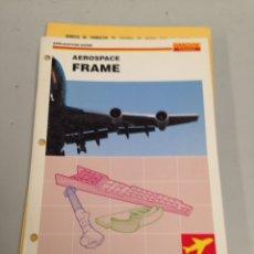 Coleccionismo Papel Varios: AEROSPACE FRAME. Lote 197053471