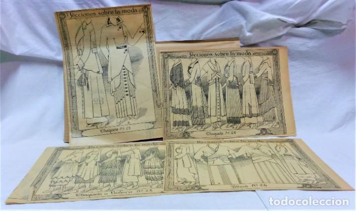 Coleccionismo Papel Varios: LECCIONES SOBRE LA MODA. ACADÉMIA CENTRAL MARTÍ,BARCELONA.LA MODA DE INVIERNO EN 1914-15 - Foto 5 - 236140690