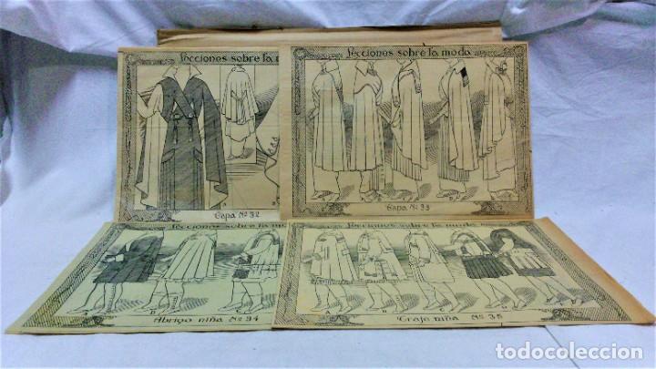 Coleccionismo Papel Varios: LECCIONES SOBRE LA MODA. ACADÉMIA CENTRAL MARTÍ,BARCELONA.LA MODA DE INVIERNO EN 1914-15 - Foto 7 - 236140690