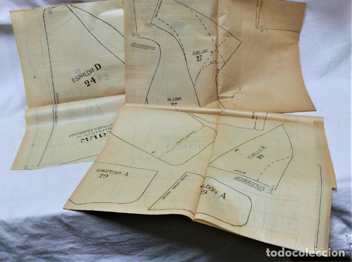 Coleccionismo Papel Varios: LECCIONES SOBRE LA MODA. ACADÉMIA CENTRAL MARTÍ,BARCELONA.LA MODA DE INVIERNO EN 1914-15 - Foto 10 - 236140690