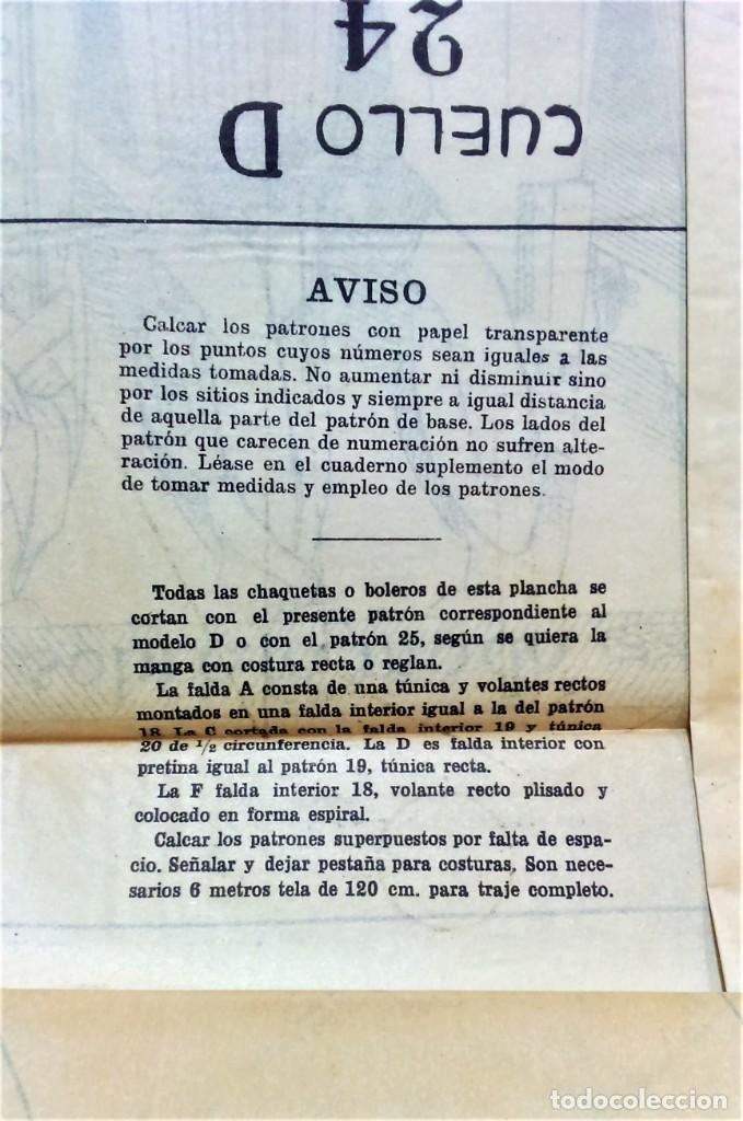 Coleccionismo Papel Varios: LECCIONES SOBRE LA MODA. ACADÉMIA CENTRAL MARTÍ,BARCELONA.LA MODA DE INVIERNO EN 1914-15 - Foto 11 - 236140690