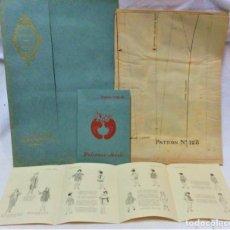 Coleccionismo Papel Varios: LECCIONES SOBRE LA MODA. ACADÉMIA CENTRAL MARTÍ,BARCELONA.LA MODA DE INVIERNO EN 1918-19. Lote 197350413