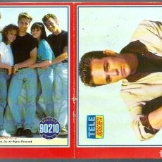 Coleccionismo Papel Varios: 2 ADHESIVOS DE LA SERIE DE TV 90210 BEVERLY HILLS, SENSACION DE VIVIR - TELE INDISCRETA - SIN PEGAR. Lote 197411377