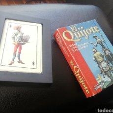 Altri oggetti di carta: BARAJA EL QUIJOTE IV CENTENARIO. FOURNIER. COMPLETA Y SIN USAR. Lote 197603751