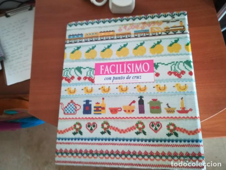 Coleccionismo Papel Varios: Colección Facílisimo con punto de cruz - Foto 8 - 197648583