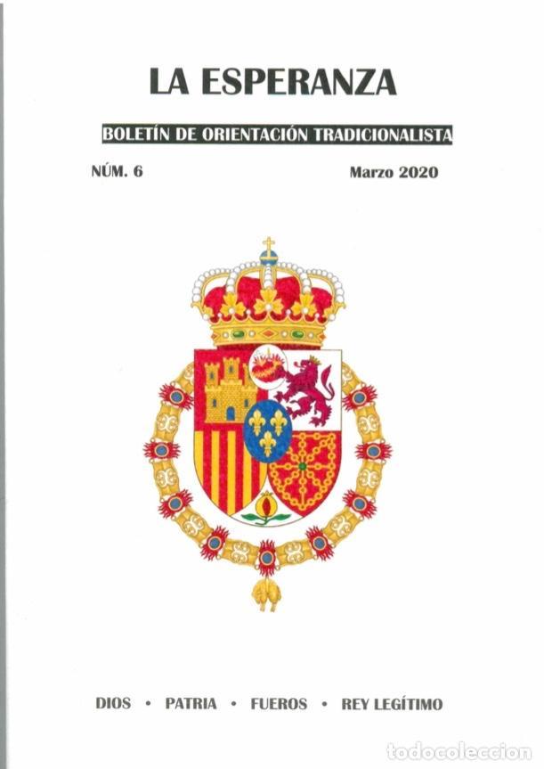BOLETÍN NÚMERO 6 LA ESPERANZA (Coleccionismo en Papel - Varios)