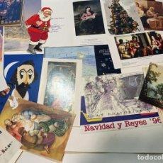Coleccionismo Papel Varios: 20 CHRISTMAS Y FELICITACIONES DE NAVIDAD . Lote 198485795