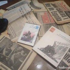 Coleccionismo Papel Varios: FRANCO HA MUERTO LOTE DE ARTICULOS , PERIODICOS , DVD , LIBRO SINGLE VER FOTOS Y DESCRIPCION PEPETO. Lote 198560185