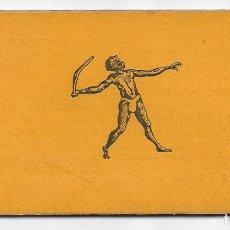 Coleccionismo Papel Varios: BOOMERANG - EXPOSICIÓN BARCELONA 1929 - 13,5 X 14 CM. ABIERTO . Lote 199425291