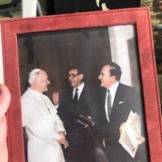 Coleccionismo Papel Varios: BONITA FOTO DE JUAN PABLO II. Lote 199802188