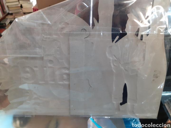 Coleccionismo Papel Varios: Cartel de cartón piedra sidra el gaitero ,años 50-60,en perfectas condiciones original - Foto 2 - 200355065