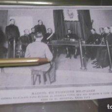 Coleccionismo Papel Varios: RECORTE AÑO 1919 - MADRID.CONSEJO DE GUERRA,AL GUARDIA CIVIL QUE DIO MUERTE A 3 PERSONAS EN ESTACIÓN. Lote 201156481