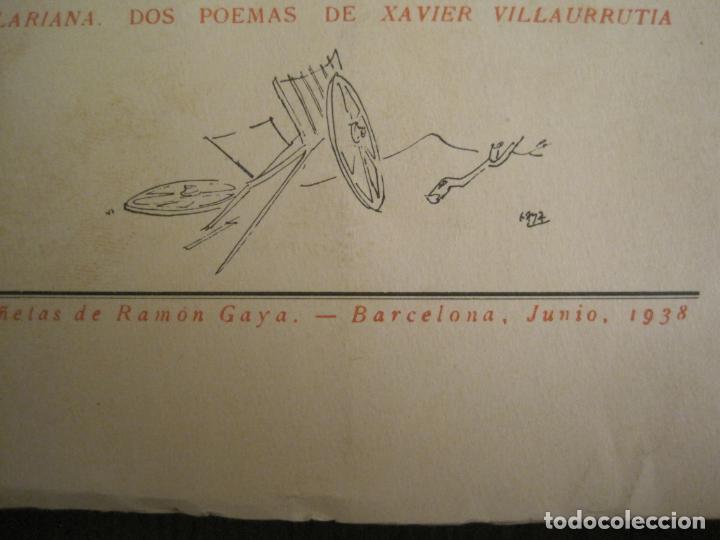 Coleccionismo Papel Varios: GUERRA CIVIL-HORA DE ESPAÑA-JUNIO 1938-REVISTA XVIII-ANTONIO MACHADO,CERNUDA...-VER FOTOS-(V-19.548) - Foto 4 - 201324091